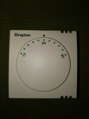 Drayton RTS1 room thermostat 240v WITHOUT BACKPLATE