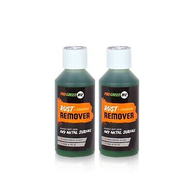 2x Pro Green MX Rust & Corrosion Remover 250 ml Motocross Dirtbike Motorcycle