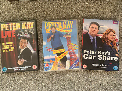 PETER KAY Comedy bundle. CAR SHARE, TOP OF THE TOWER, LIVE