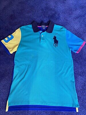 Boys Ralph Lauren Polo Shirt Large (Age 14-16)