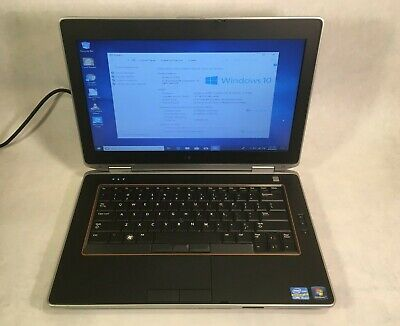 "Dell Latitude E5420 14"" Laptop Intel Core i3 2.4GHz 4GB - 320GB HDD Windows 10"