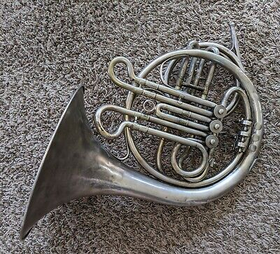 Late 19th Century Bohemian French Horn with Crook - Bohland & Fuchs Import