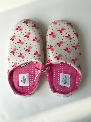 S Primark Licence Disney Minnie Mickey Mouse Chaussons Mules /à Enfiler Taille S//M//L UK 3-4, EU 36-37