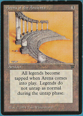 Arena of the Ancients Legends PLD Artifact Rare MAGIC CARD (ID# 82119) ABUGames