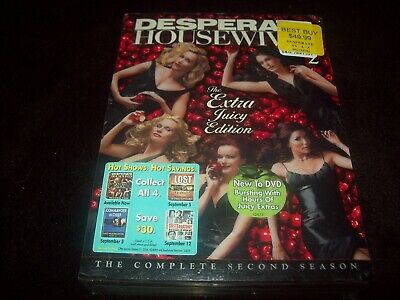 Desperate Housewives Season 2 (DVD)...Xtra Juicy.....BRAND NEW & FACTORY SEALED!