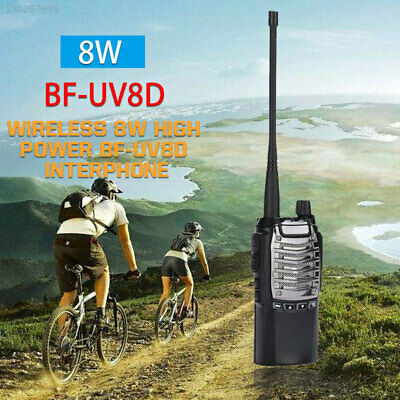 Two-Way Intercom Interphone UHF Radio Transceiver Handheld Outdoor 400-480MHz