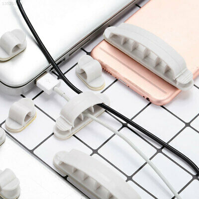 Line Fixer Cable Holder 10pcs Mobilephone Silicone Silicone Mobilephone Grey