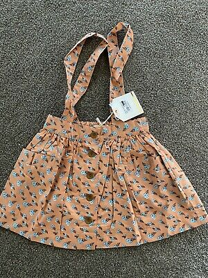 Lacey Lane Size 3 Peaches Suspender Skirt BNWT