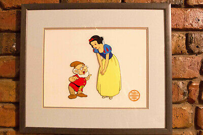 Walt Disney animation  sericel Snow White