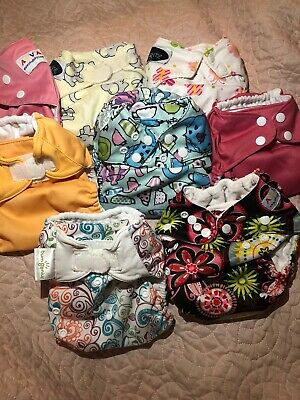 8 Cloth Diapers Bundle