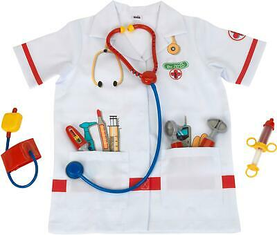 Klein DOCTOR COSTUME WITH ACCESSORIES Role Play Toy Fancy Dress BNIP