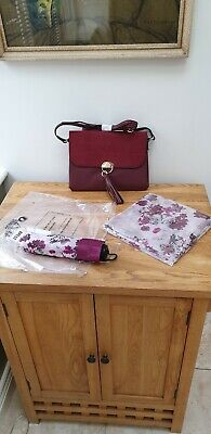 Handbag Scarf And Umbrella Set NEW