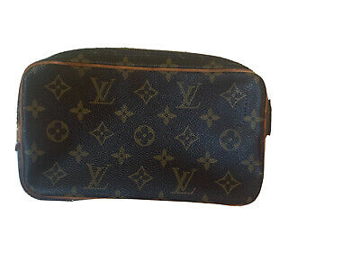 Authentic Louis Vuitton Pochette Marly Bandouliere Shoulder Bag Monogram