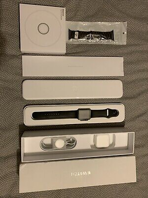 Apple iWatch 7000 Series Space Grey 42mm & Apple Dock/charger Boxed