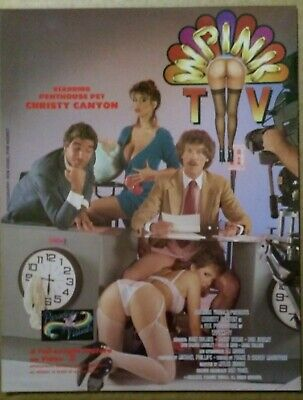 Christy Canyon John Holmes in Wpink TV Video  Promo Ad Slick Poster