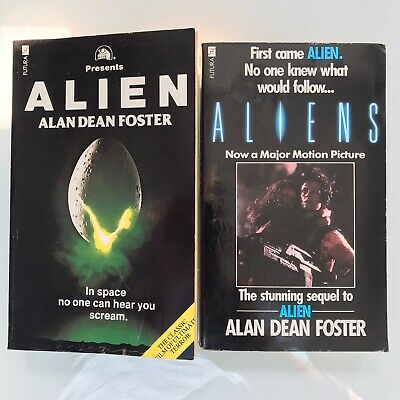 ALIEN & ALIENS Film Paperback Books Alan Dean Foster Bundle