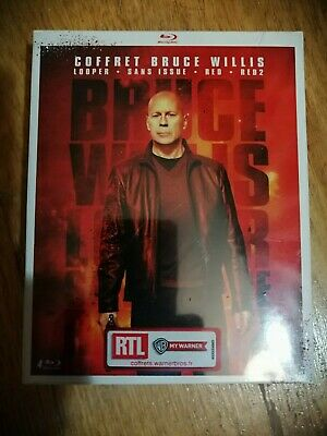 Coffret BLURAY Neuf / Coffret Bruce Willis : Looper + sans Issue Red 2 [Blu-Ray]