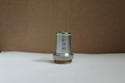 LOMO Microscope Objective 40 0.75 Water Immersion Fluor RMS