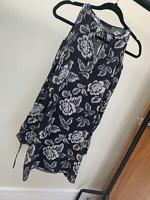 ALL SAINTS SILK Paradiso Aster Zip Dress Size 14 BNWT in