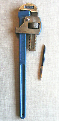 Record 18 Adjustable Pipe Wrench. Stillson Type.