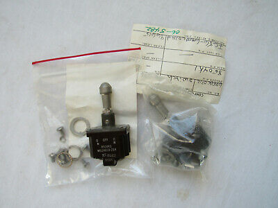 Locking Lever Actuator, Mil-Spec EATON MS21027C231 Toggle Switch DPDT Latched