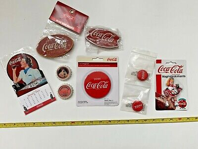 Coca-Cola Lot of Magnets from early 2000's