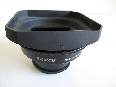 TWO Sony 52mm Wide Conversion Lens 0.7X -