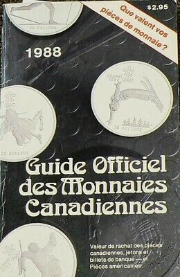 1988 Unitrade Canadian Coin Guide French #4307