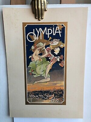OLYMPIA affiche ancienne