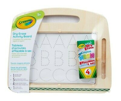NEW Crayola Dry-Erase Activity Board from Mr Toys