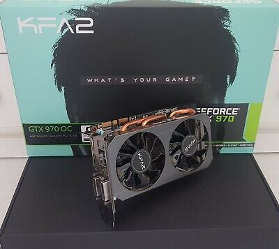 Scheda Video Grafica Geforce Gtx 970 Oc Factory By Kfa2, 4Gb Gddr5