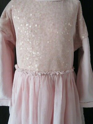 Bundle Girls Gap M&S Marks and Spencer Sequin Net Dress butterfly Age 2-3 yrs