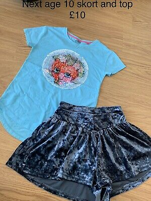 Next Girl Skort And Top Age 10