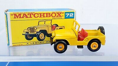 Repro box Matchbox 1:75 nº 72 standard Jeep
