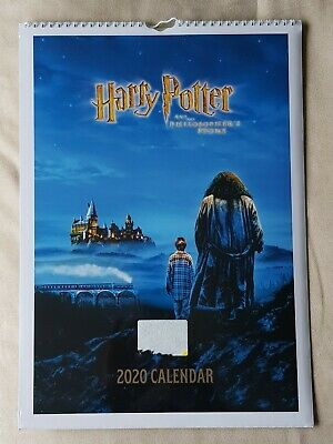 NEW Official Harry Potter 2020 A3 Calender - Film Posters 12 Month