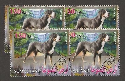 GREATER SWISS MOUNTAIN DOG ** Int'l Postage Stamp Art Collection **Great Gift**