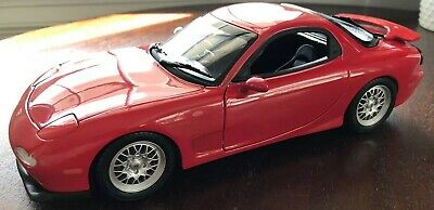 1//100 Kyosho MAZDA RX-7 FC3S RED diecast car model NEW