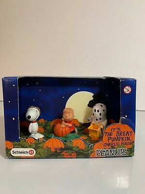 SCHLEICH PEANUTS Scenery Pack Baseball CHARLIE BROWN LUCY SNOOPY PERSONAGGI 22043