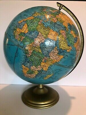 "Atlas /& Classic Vaugondy French World Globe 13.5/"" Nautical Tabletop Decor New"