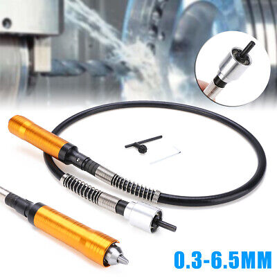 Extension Cord Flexible Flex Shaft Polishing Drill Rotary Grinder 0.3-6.5mm Tool