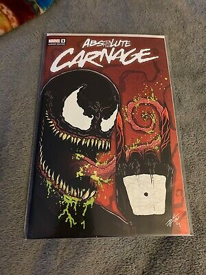 Absolute Carnage #1 MIDTOWN COMICS VARIANT signed x2 Donny Cates /& Ryan Stegman