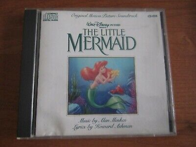 The Little Mermaid (Original Motion Picture Soundtrack) CD 1989 Walt Disney VG