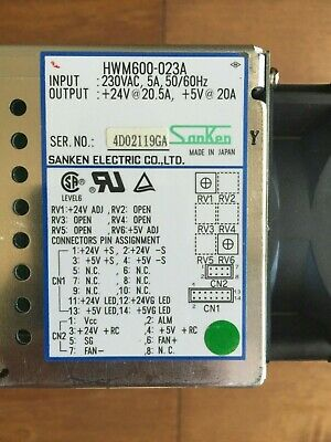 Hwm600-023A Sanken Electric Power Supply