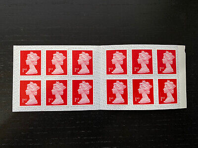 12 x 3 = 36 x 1st Class Royal Mail Postage Stamps Booklet 3 books Of 12 Stamps