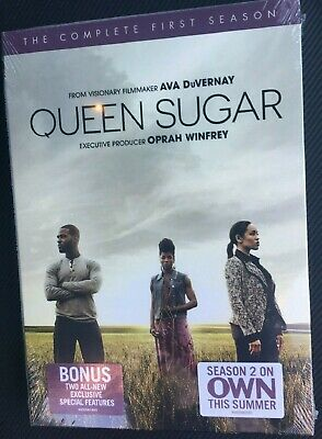 QUEEN SUGAR THE COMPLETE FIRST SEASON 1st 1 One DVD BRAND NEW SEALED