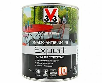 V33- Smalto ANTIRUGGINE DIRETTO RUGGINE LT.0,5- LT.2,5 - 10 TINTE DISPONIBILI!