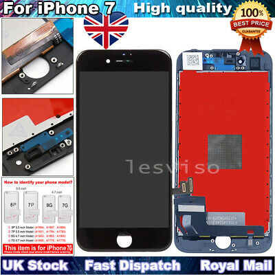 For iPhone 7 LCD Screen Replacement 3D Touch Screen Digitizer Display Black UK