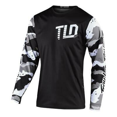 Troy Lee Designs Kids Jersey GP Camo - Weiß/Schwarz