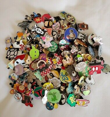 Disney Pin Trading Lot U Pick Size 25, 50, 75, 100.  New.  No duplicates.