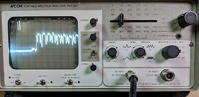 Used Avcom Psa-35A Portable Spectrum Analyzer - Need To Retire!!